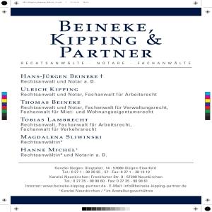 ANWALTSKANZLEI KIPPING & PARTNER