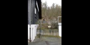 Aussenanlage Vereinsheim vor der Renovierung